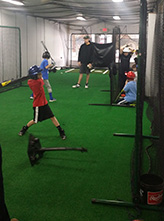 kids training in the facility